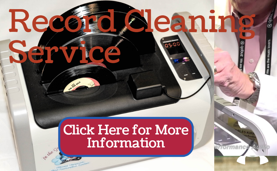 Record Cleaning service, Ultrasonic record cleaning, Vinyl cleaning